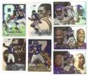 1999 Flair Showcase Football Team Set - MINNESOTA VIKINGS