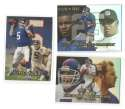 1999 Flair Showcase Football Team Set - NEW YORK GIANTS