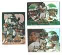 1999 Flair Showcase Football Team Set - PHILADELPHIA EAGLES