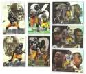 1999 Flair Showcase Football Team Set - PITTSBURGH STEELERS