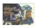 1999 Flair Showcase Football Team Set - SAN DIEGO CHARGERS
