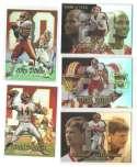 1999 Flair Showcase Football Team Set - WASHINGTON REDSKINS