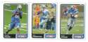 2003 Topps Total Football Team Set - DETROIT LIONS