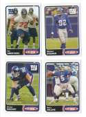 2003 Topps Total Football Team Set - NEW YORK GIANTS