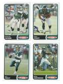2003 Topps Total Football Team Set - PHILADELPHIA EAGLES