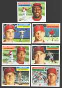 2005 Topps Heritage w/ SPs - LOS ANGELES ANGELS of ANAHEIM Team Set