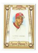 2006 Topps Allen and Ginter Dick Perez Sketches - WASHINGTON NATIONALS