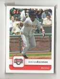 2006 Fleer - WASHINGTON NATIONALS Team Set