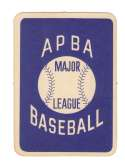 1962 APBA Season (Light Pencil 62 on some) - MINNESOTA TWINS Team Set