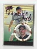 1999 Pacific Invincible Red Retail Parallel - TAMPA BAY DEVIL RAYS Team Set