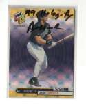 1999 Upper Deck HoloGrFX AuSOME - TAMPA BAY RAYS   Jose Canseco
