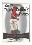 2006 Topps Triple Threads - WASHINGTON NATIONALS / MONTREAL EXPOS Team Set