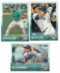 2015 TOPPS - SEATTLE MARINERS Team Set