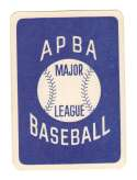1979 APBA Season Extra Players writing on back - CALIFORNIA ANGELS Team set