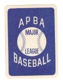 1983 APBA Season w/ Extra Players (writing on back) - KANSAS CITY ROYALS Team Set