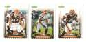 2006 Score Football Team (From Factory set) - CLEVELAND BROWNS