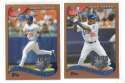 2002 Topps Opening Day - LOS ANGELES DODGERS Team Set