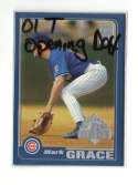 2001 Topps Opening Day - CHICAGO CUBS Team Set
