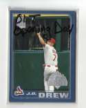 2001 Topps Opening Day - ST LOUIS CARDINALS Team Set