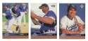 1997 Upper Deck (1-550) - KANSAS CITY ROYALS Team Set