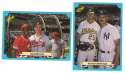 1988 Classic Blue - 2 card Combo lot
