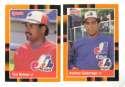 1988 Donruss Baseball's Best - MONTREAL EXPOS Team Set