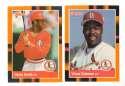 1988 Donruss Baseball's Best - ST LOUIS CARDINALS Team Set