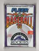 1996 Fleer Team Wax - COLORADO ROCKIES Team Set