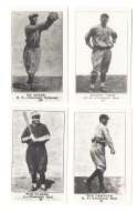 1917 Collins McCarthy E135 (Reprints) - CINCINNATI REDS Team Set