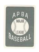 1953 APBA (Reprint) Season - PHILADELPHIA ATHLETICS / A'S Team Set