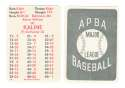 1953 APBA (Reprint) Season - DETROIT TIGERS Team Set w/ Al Kaline
