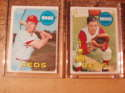 1969 Topps (EX Condition) - CINCINNATI REDS Team Set