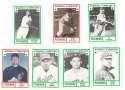 1982 TCMA Greatest Pitchers - CLEVELAND INDIANS Team Set
