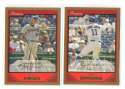 2007 Bowman GOLD - WASHINGTON NATIONALS Team Set