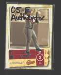 2005 Fleer Authentix - WASHINGTON NATIONALS Team Set