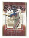 2005 Fleer Classic Clippings - WASHINGTON NATIONALS Team Set