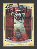 2005 Fleer National Pastime - WASHINGTON NATIONALS
