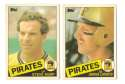 1985 Topps Traded TIFFANY - PITTSBURGH PIRATES Team Set