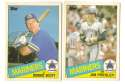 1985 Topps Traded TIFFANY - SEATTLE MARINERS Team Set