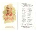 1888 Allen and Ginter N29 Reprints - NEW YORK GIANTS