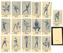 1925 Universal Toy and Novelty W-504 Reprints -BROOKLYN BROOKLYN DODGERS 16 Card Team Set