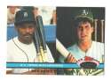 1991 Topps Stadium Club Members Only AL Home Run Ldrs Cecil Fielder Jose Canseco