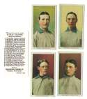 1909 Philadelphia Caramel E95 Reprints - CHICAGO CUBS Team Set