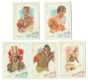 2015 Topps Allen and Ginter - Rocky the Movie Characters