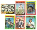 1975 Topps MINI B - MILWAUKEE BREWERS Team Set EX+ Condition