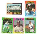 1975 Topps MINI B - MONTREAL EXPOS Team Set overall EX+ Condition
