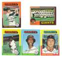 1975 Topps MINI B - SAN FRANCISCO GIANTS Team Set EX+ Condtion
