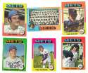 1975 Topps MINI B - NEW YORK METS Team Set EX+ condition