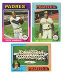 1975 Topps MINI B - SAN DIEGO PADRES Team Set EX+ condition