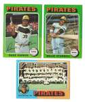1975 Topps MINI B - PITTSBURGH PIRATES Team Set EX+ condirtion